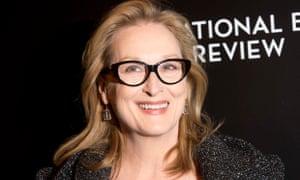 Meryl Streep, backing the Writers Lab.