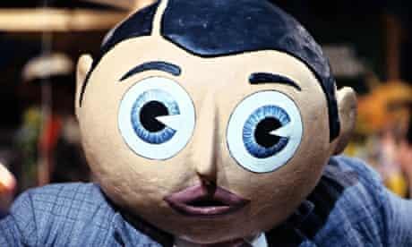 Chris Sievey as Frank Sidebottom in 1992.