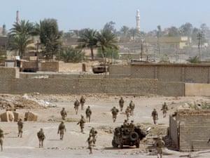 US marines in Falluja