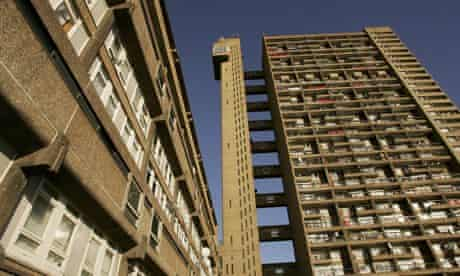 Trellick Tower in north Kensington, London, once owned by the GLC, now boasts private flats that hav
