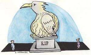 Andrzej Krauze illustration for Ariel Sharon