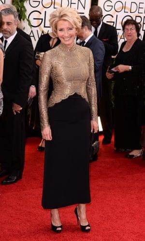 Golden Globes fashion 13: 71st Annual Golden Globe Awards, Arrivals, Los Angeles, America