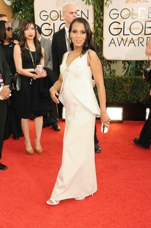 Golden Globes fashion 13: 71st Annual Golden Globe Awards, Arrivals, Los Angeles