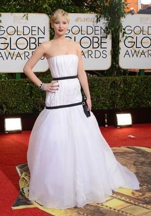 Golden Globes fashion 13: Jennifer Lawrence