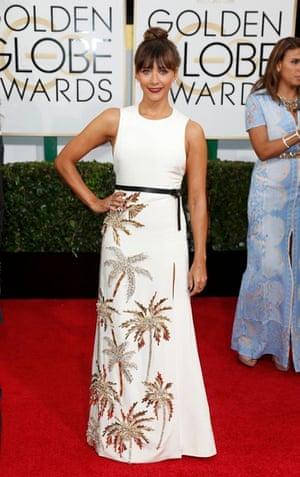 Golden Globes fashion 13: Rashida Jones
