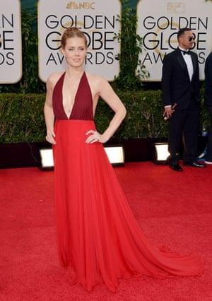 Golden Globes fashion 13: Amy Adams