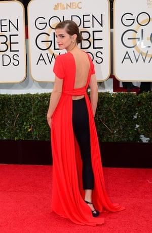 Golden Globes fashion 13: Emma Watson