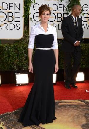 Golden Globes fashion 13: Julia Roberts