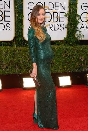 Golden Globes fashion 13: Olivia Wilde