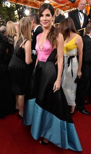 Golden Globes fashion 13: sandra bullock