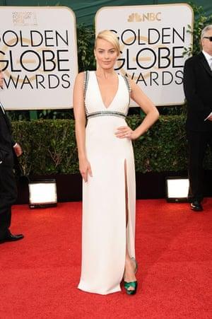 Golden Globes fashion 13: Margot Robbie