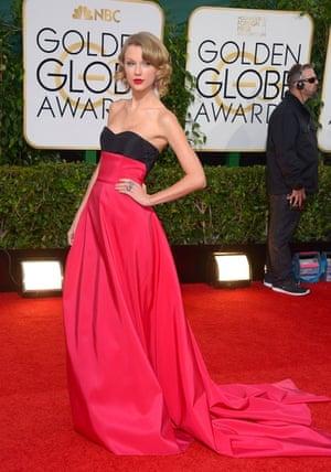 Golden Globes fashion 13: Taylor Swift