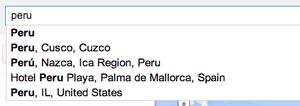 Which Peru?