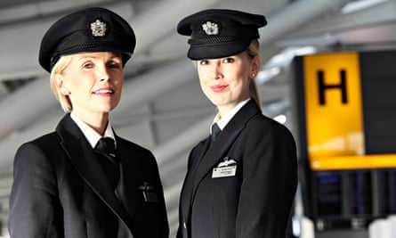 BA pilots and sisters Cliodhna and Aoife Duggan