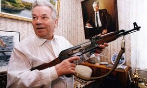 KALASHNIKOV 50TH ANNIVERSARY OF AK47