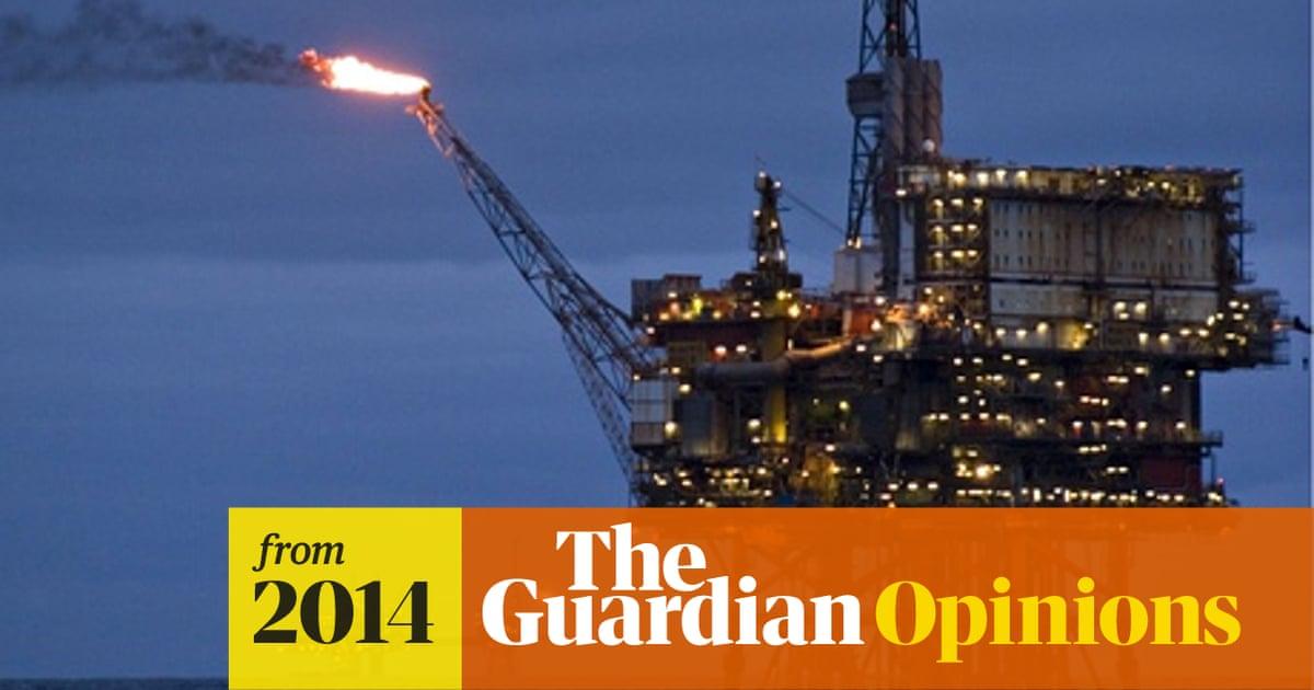 Dude Where S My North Sea Oil Money Oil The Guardian