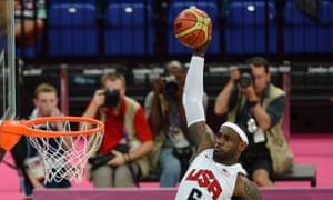 LeBron James Olympics