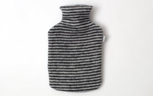 Homes - warm front: stripey hot water bottle cover