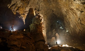 Son Doong contains vast caverns, which fill the 5.5 mile long interior