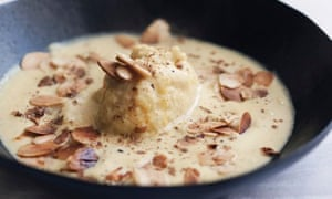 Cauliflower soup with ras el hanout