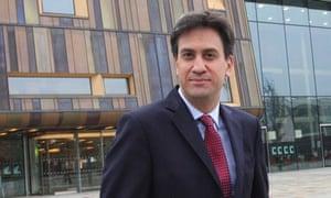 Ed Miliband visits Doncaster, 18 Oct 2013