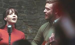 Carey Mulligan and Justin Timberlake in Inside Llewyn Davis