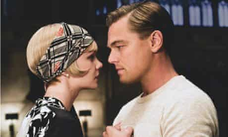 With Leonardo DiCaprio in The Great Gatsby