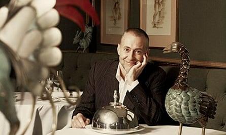 Michel Roux Jnr at Le Gavroche