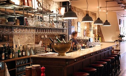 Green Man and French Horn restaurant, London