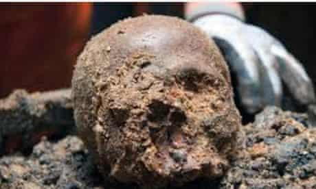 Skulls found at crossrail excavation