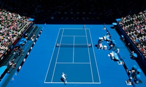 Rod Laver Arena scene of the Australian Open