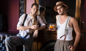 Scotch and Soda musicians Eden and Justin share their favourite Sydney bars. Photo: The Guardian/Anna Kucera
