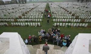 first world war battlefields