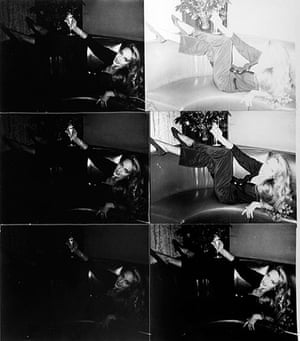 Burroughs: Andy Warhol, Jerry Hall, 1976-1987