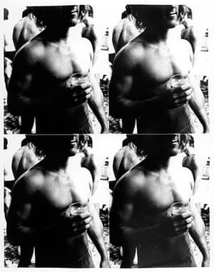 Burroughs: Andy Warhol, Young Man holding a Glass, 1976-1986