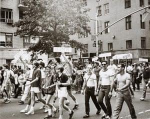 Burroughs: Andy Warhol, Gay Pride, 1976-1987