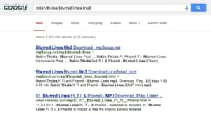 Piracy sites still top Google's search results... for certain kinds of queries.