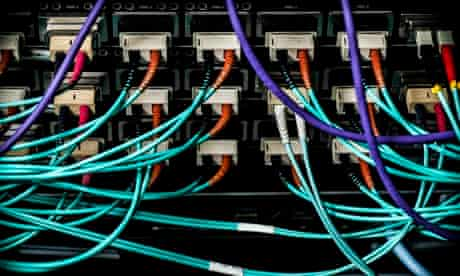 The Server room at King's Place.