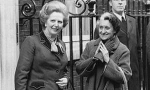 Margaret Thatcher and Indira Gandhi