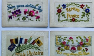 Postcards from the front, WWI