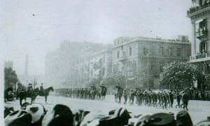 Victory March Past: Salonika, 1918