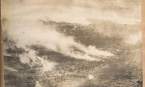 Somme Gas attack, France 1916.