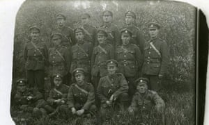 British soldiers in Le Bassee, WW1