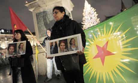 A woman of Kurdish origin