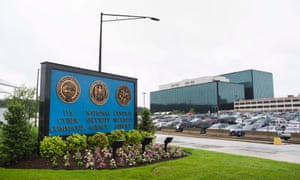 Libertarians led by House Republicans want the Obama administration to curb the snooping power of the National Security Administration based in Fort Meade, Maryland, above. Photograph: Jim Lo Scalzo/EPA
