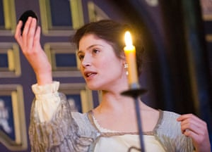 Gemma Arterton as The Duchess of Malfi at the Sam Wanamaker Playhouse