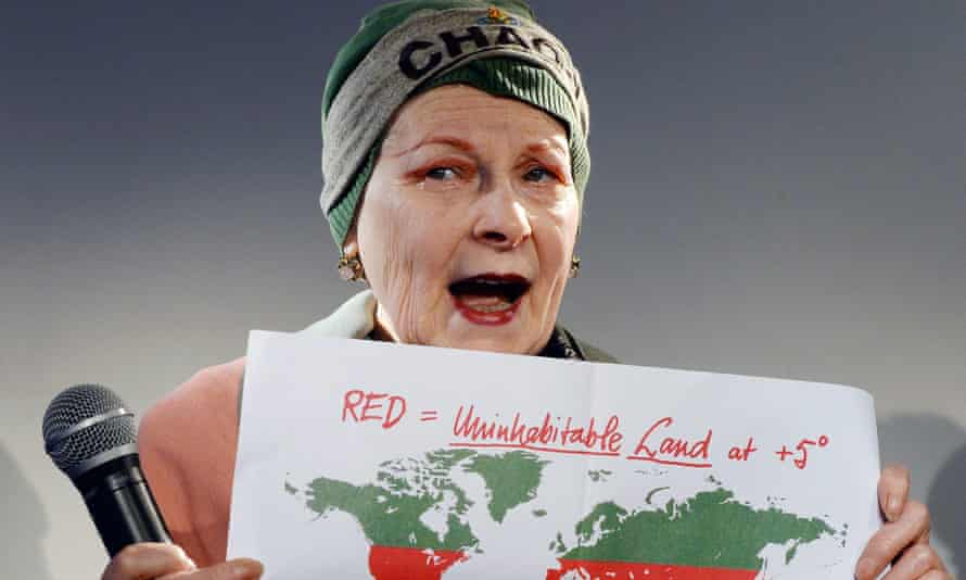 British designer Vivienne Westwood  during the 'End Ecocide in Europe' press conference