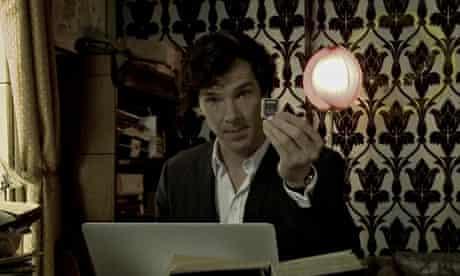 Here's a clue: Benedict Cumberbatch in Sherlock: the Network.