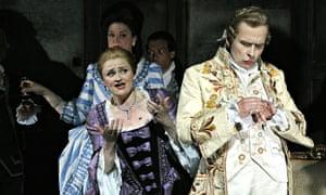 Richard Strauss opera Capriccio, with Susan Gritton as Countess Madeleine