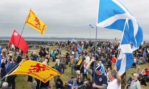 Scottish independence rally, Edinburgh, 21/09/13